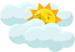 Clouds may block sun's rays during bad weather. The good thing is, solar panels are powered by light, not by heat.